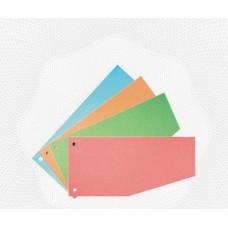 Разделительные полоски картон Attache (100 шт.) оранжевые