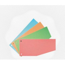 Разделительные полоски картон Attache (100 шт.) голубые