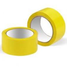 Клейкая лента 48мм *66 м плотность 45 мкм.желтая