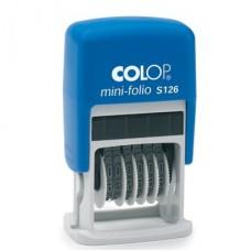 Нумератор ручной  Colop S126 6-разрядный