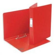 Папка на 2 кольца ПВХ+картон Bantex 35мм (диаметр кольца 25мм) красная