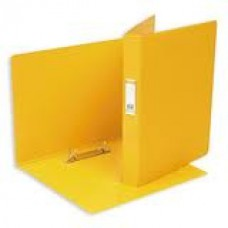 Папка на 2 кольца ПВХ+картон Bantex 35мм (диаметр кольца 25мм) желтая