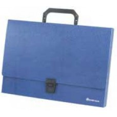 Портфель пластик. Attache A4  1 отделение ,в ассортименте (250x370 мм)