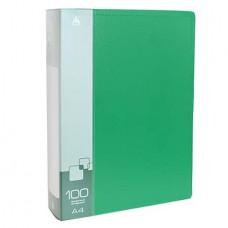 """Папка на 100 файлов """"Бюрократ"""" 0.8 зелёная"""