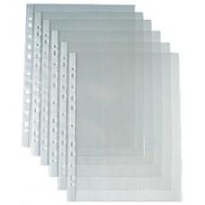 Папка-файл  А4 Attache А4 40 мкм гладкий прозрачный (100шт/уп.)