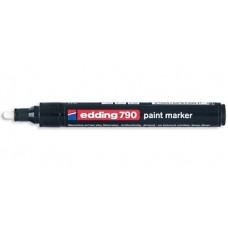 Маркер специальный лаковый Edding Е-790/49 для темных и прозрачных материалов, черный