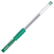 Ручка гелевая Attaсhe Town с резиновой манжеткой, зеленая (толщина линии 0,5 мм)