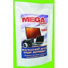 Чистящие салфетки MEGAoffice запасные 100 шт/уп. для экранов