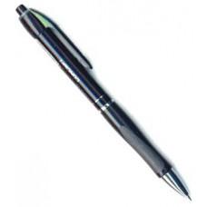 Ручка шариковая E.Krause Megapolis автомат с резин. манжеткой черная