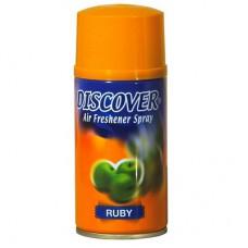 """Освежитель воздуха  спрей """"Discover""""(Яблоко) 320 мл сменный баллон"""
