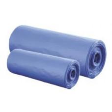 Мешки для мусора 120 л (50 шт/уп.) в рулоне синие