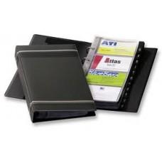 Визитница Durable Visifix на 4-х кольцах 200 карточек