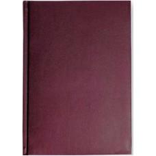 Ежедневник недатированный Ideal А-5 136л. бордовый