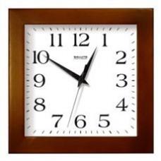 Часы настенные TROYKA 81863835  коричневая рамка 29х29х3,5 см .
