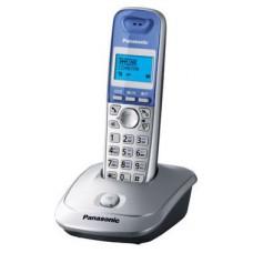 Телефон Panasonic KX-TG2511RUS DECT серебристый металлик