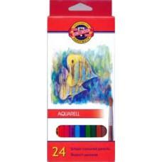 Карандаши цветные акварельные KOH-I-NOOR 24 цвета