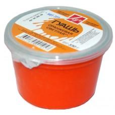 Гуашь баночная Луч 225 мл оранжевая светлая
