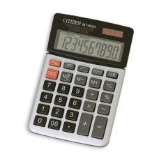 Калькулятор Citizen MT-850AII 10 разрядов, поворотный дисплей, металлический корпус, 104*160мм