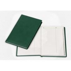 Алфавитная книжка Attache Вива А5, 202х133мм,96л. кожзам, зеленый