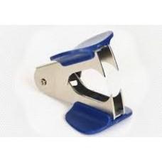 Антистеплер Sax 700 синий, с фиксатором