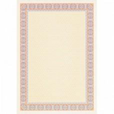 Сертификат-бумага Decadry А-4  (вод.знаки) сине-оранж.  (25л/уп)