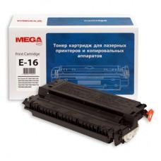Тонер-картридж MEGA print Е-16 (черный)