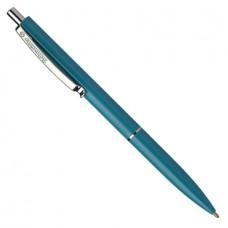 Ручка для логотипа Schneider автомат K-15 зелёный корпус, синяя 308-4/3
