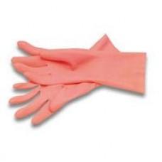 Перчатки резиновые PACLAN с хлопковым напылением, размер S