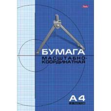 Бумага миллиметровая А4 20л. голубая сетка