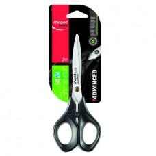 Ножницы 17 см MAPED ADVANCED  резиновые вставки