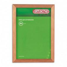 Рамка для сертификатов Attache 21*30см (акриловое стекло, сосна светлая)