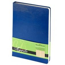 Ежедневник недатированный  А-5 Bruno Visconti 160л. Megapolis кремовый блок, синий