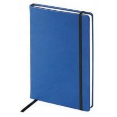 Ежедневник недатированный InFolio А-5  на резинке синий (140х200 мм)