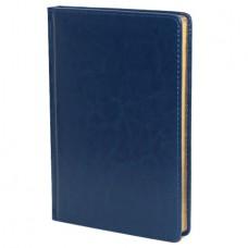 Ежедневник н/дат. А-5 АЛЬТ SIDNEY  136л. (145*210) прошивной, золотой срез, синий