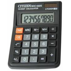 Калькулятор CITIZEN SDC-022S 10 разрядов, 87*120мм