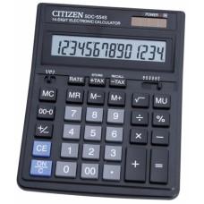 Калькулятор CITIZEN SDC-554S 14 разрядов, 153*199