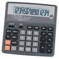 Калькулятор CITIZEN SDC-640 II 14 разрядов, 156*156