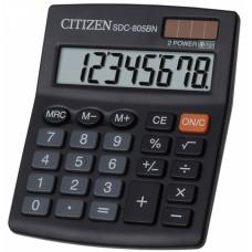 Калькулятор CITIZEN SDC-805BN 8 разрядов, 100*125