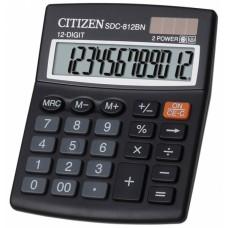 Калькулятор CITIZEN SDC-812BN 12 разрядов, 100*125
