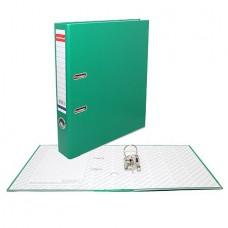 Регистратор E.KRAUSE Стандарт 50мм зелёный (без кармана)