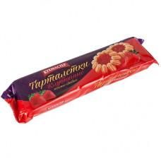 Печенье сдобное Кухмастер Тарталетки клубничные 240г