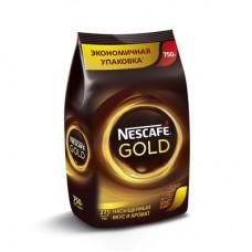 Кофе Nescafe Gold растворимый сублимированный, 750г, пакет