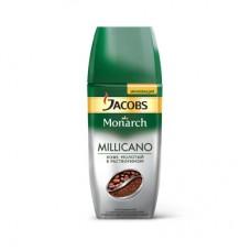 Кофе Jacobs Monarch Millicano растворимый с молотым 95г (стекло)
