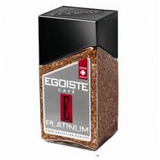 Кофе EGOISTE Platinum растворимый,100г