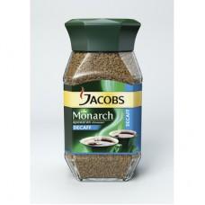 Кофе Jacobs Monarch Decaf растворимый 95г (стекло)