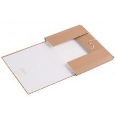 Папка архивная из переплетного картона 45мм, 2 завязки