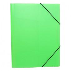 Папка на резинке NEON 0.5 зелёная