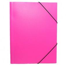 Папка на резинке NEON 0.5 розовая