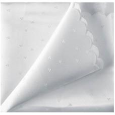 Скатерть п/э с тефлоновым покрытием «Белый снег» (150*182см)