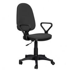 Кресло Prestige  черное (ткань/пластик)